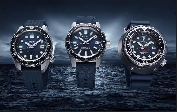 SEIKO 55周年,三款传奇腕表在Prospex系列重生