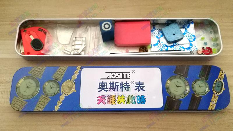 第一块自己手表-Aosite 但据说不是手表的品牌,传说是个电子元件生产商的名字